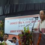 Sri Tarun Gogoi, CM, Assam addressing the gathering