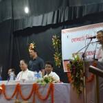Sri G. S. Rautela, DG, NCSM addressing the gathering