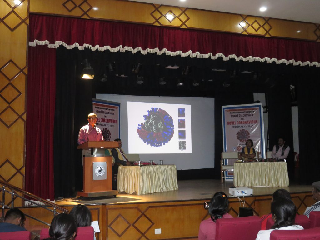 Health Awareness Prograame on Coronavirus at NBSC_ Lecture by Prof(Dr) Deepanjan Banerjee, Head,Dept of General Medcine, NBMC&H