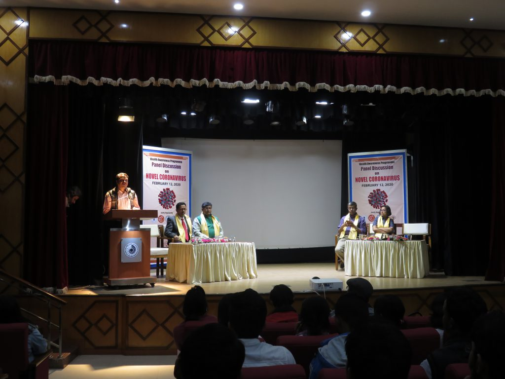 Health Awareness Prograame on Coronavirus at NBSC_ Welcome address by Shri Ritabrata Biswas, Project Co-ordinator, NBSC